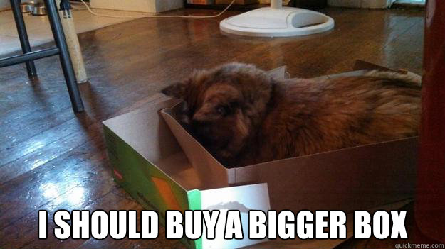 i should buy a bigger box - 