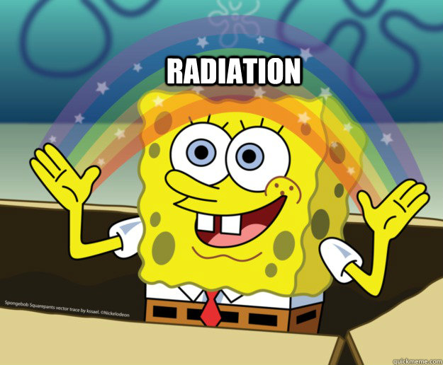 radiation - Spongebob Imagination