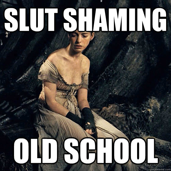 slut shaming old school - oldschool slut shaming