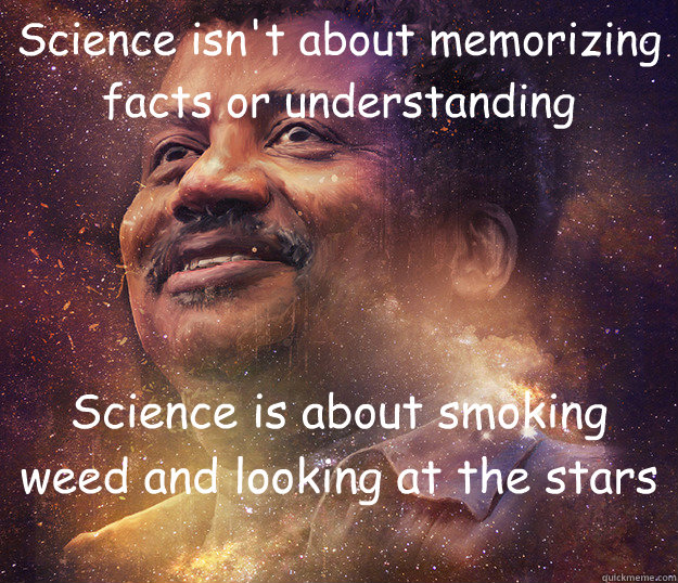 science isnt about memorizing facts or understanding scienc - 