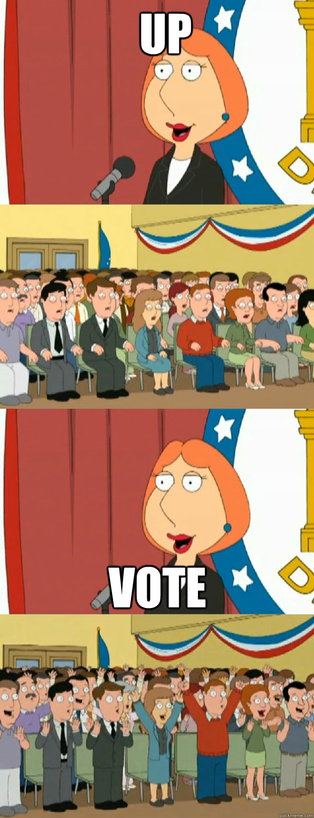 up vote - Lois Griffin