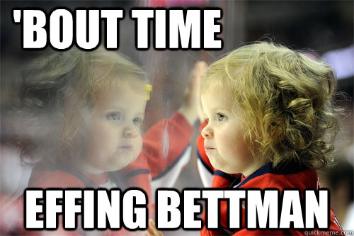 bout time effing bettman - Die Hard Hockey Fan
