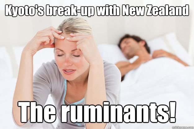 kyotos breakup with new zealand the ruminants - Kyoto New Zealand break-up