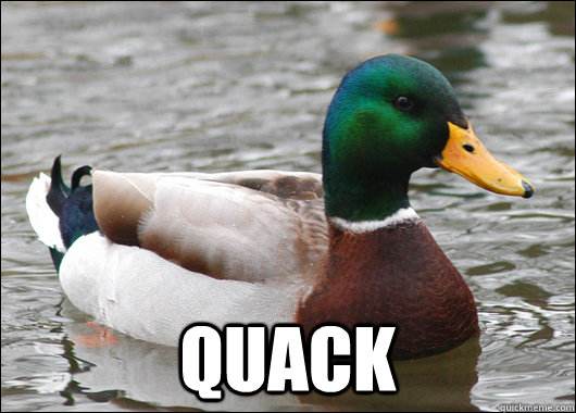 quack - Actual Advice Mallard