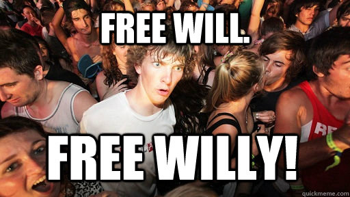 free will free willy  - Sudden Clarity Clarence