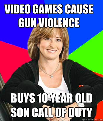 video games cause gun violence buys 10 year old son call of  - Sheltering Suburban Mom
