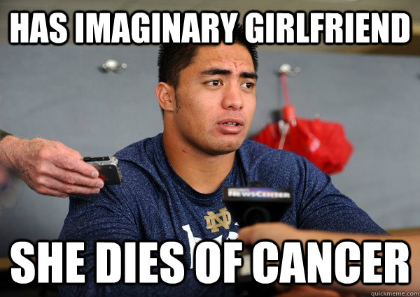 has imaginary girlfriend she dies of cancer - Bad Luck Teo