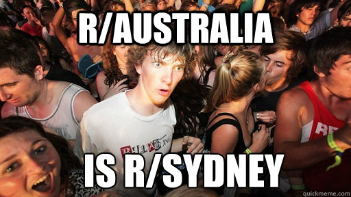 raustralia is rsydney - Sudden Clarity Clarence