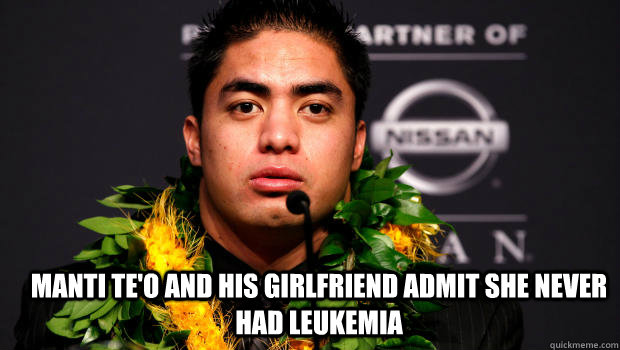 manti singles & personals The latest tweets from manti teo girlfriend (@lennaykekuateo) online dating expert notre dame fan (love manti te'o) xoxoxoxoxo cancer patient great driver #livestrong.