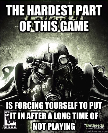 the hardest part of this game is forcing yourself to put it  -