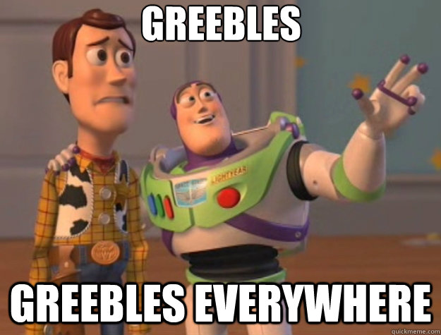 greebles greebles everywhere - Toy Story