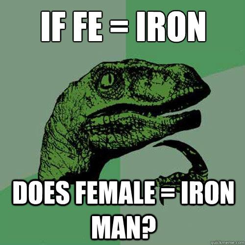 female iron man meme