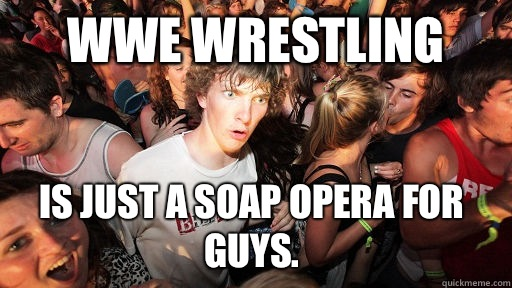 WWE wrestling isnt even a fucking donkey - Sudden Clarity Clarence