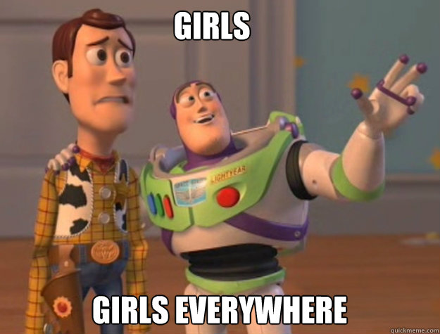 girls girls everywhere - buzz