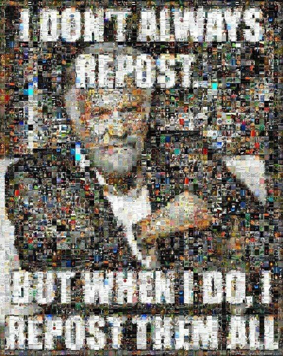 60 - Repost them all
