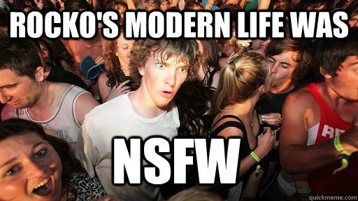 rockos modern life was nsfw - Sudden Clarity Clarence
