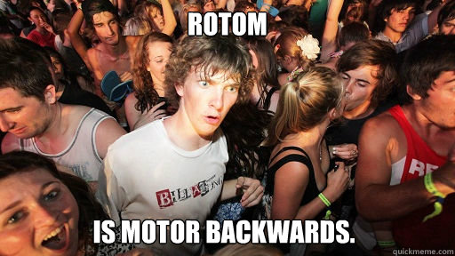 rotom is motor backwards - Sudden Clarity Clarence