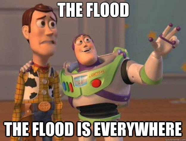the flood the flood is everywhere - Toy Story