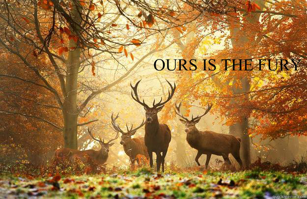 ours is the fury -