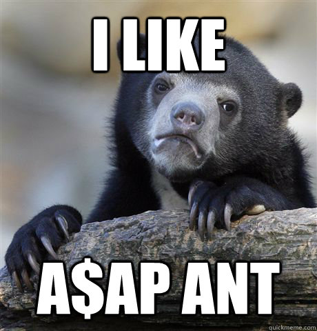 i like aap ant - Confession Bear