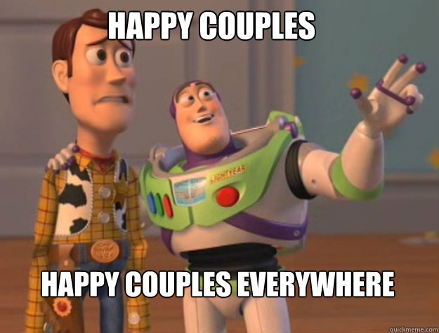 happy couples happy couples everywhere - buzz