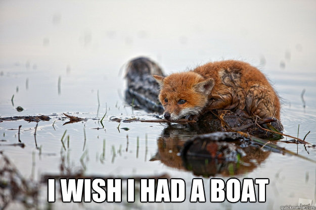 i wish i had a boat - Mozilla Waterfox