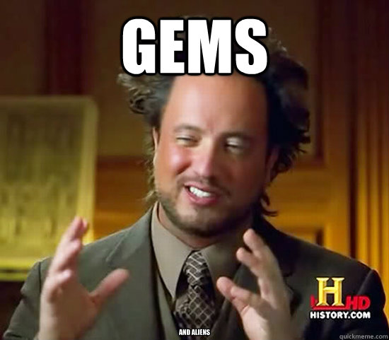 gems and aliens - Ancient Aliens