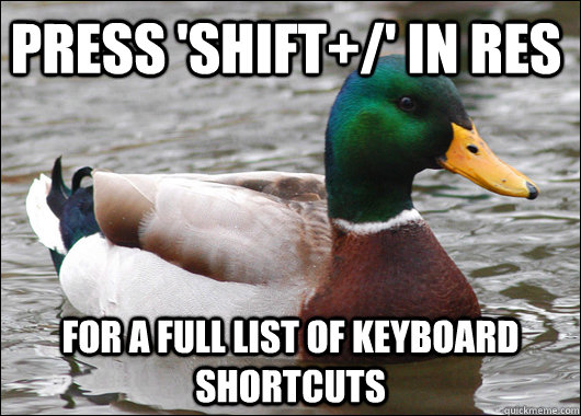 press shift in res for a full list of keyboard shortcuts - Actual Advice Mallard