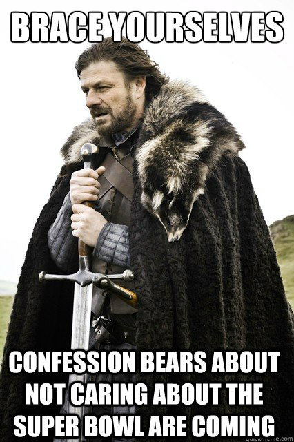 brace yourselves confession bears about not caring about the - Brace Yourselves!