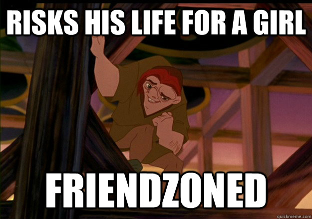 risks his life for a girl friendzoned - 