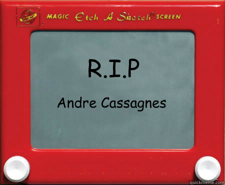 rip andre cassagnes  - Good Guy Etch A Sketch