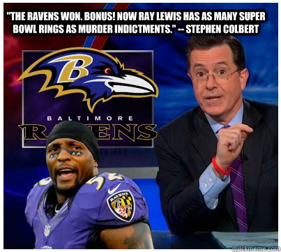 the ravens won bonus now ray lewis has as many super bowl -