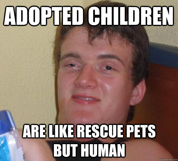 adopted children are like rescue pets but human - 10 Guy
