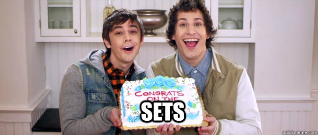 sets - Congrats on the sex