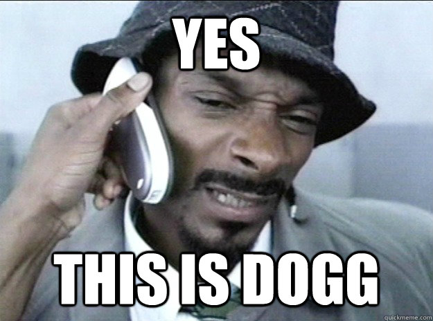 yes this is dogg - 
