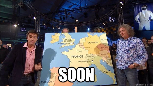 soon - Top Gear SOON