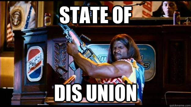 state of dis union - IDIOCRACY