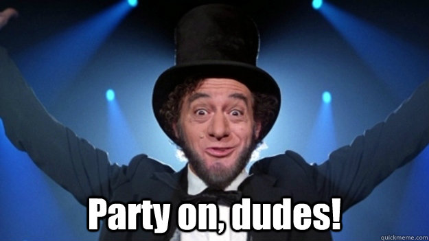 party on dudes bill and ted