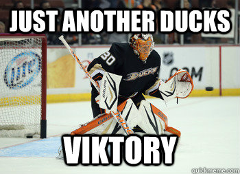 just another ducks viktory - Viktor Fasth
