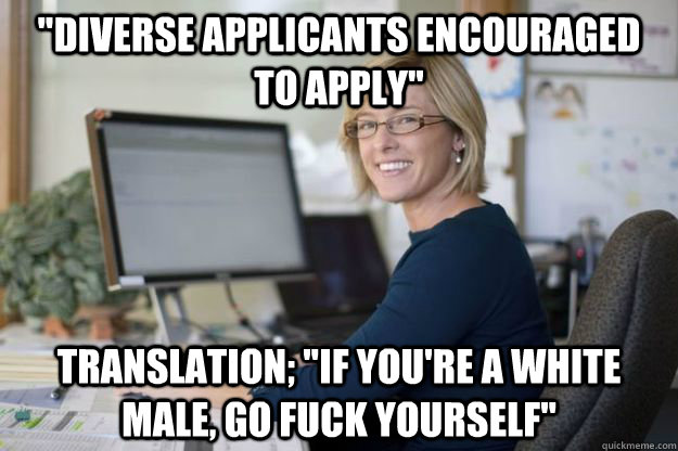 diverse applicants encouraged to apply translation if yo - Joyful Disappointer HR Manager