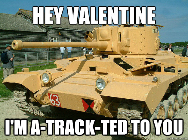 hey valentine im atrackted to you - valentine tank