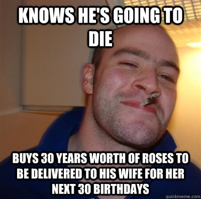 knows hes going to die buys 30 years worth of roses to be d - GGG plays SC