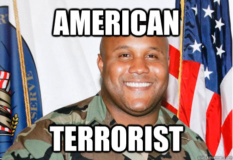 american terrorist  - terrorism hits the shores of America for the first time since 911