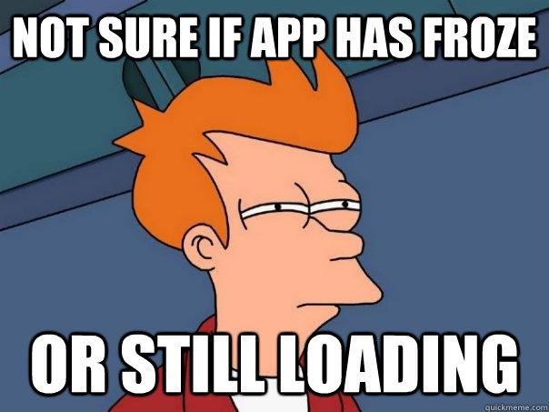 app loading