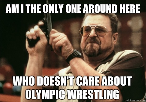Am I the only one around here who doesnt care about Olympic  - Am I the only one