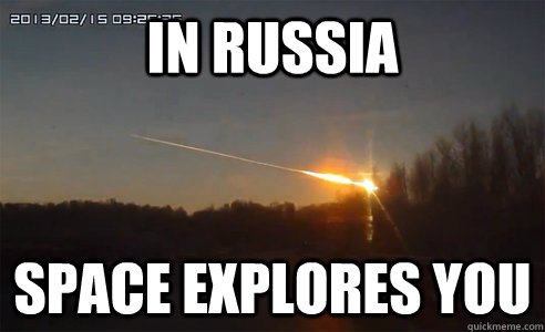 in russia space explores you - Russian Spunky Comet Fall