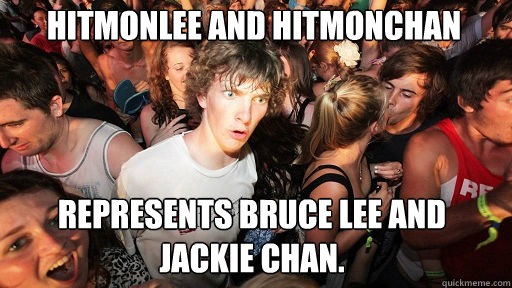 hitmonlee and hitmonchan represents bruce lee and jackie cha - Sudden Clarity Clarence
