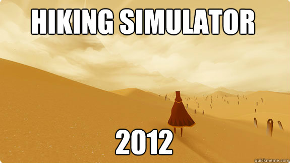 hiking simulator 2012 -