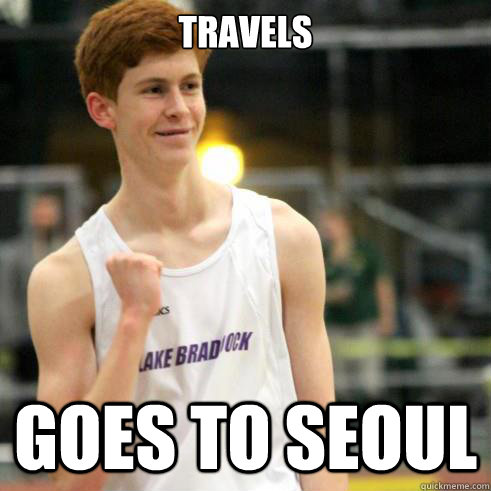 travels goes to seoul - Success Ginger