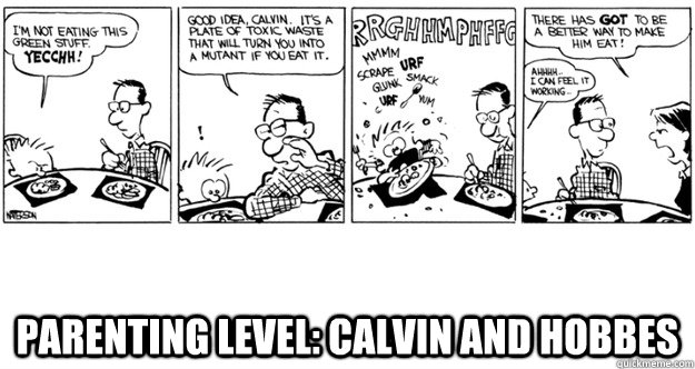 parenting level calvin and hobbes - Parenting Level Calvin and Hobbes